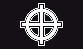 FLAG (CELTIC CROSS BLACK)