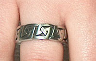 ANILLO TRIBAL LIFE PEWTER