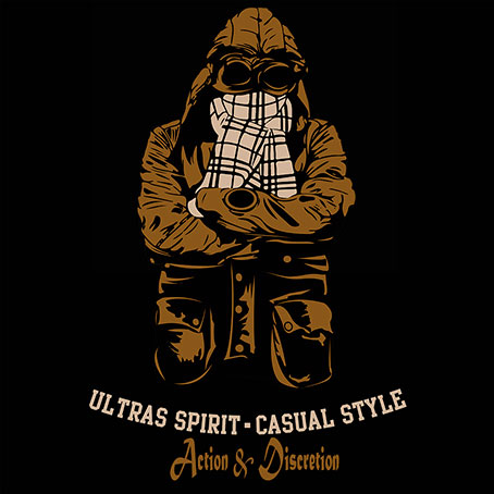 PACK 20 STICKERS (ULTRAS SPIRIT·CASUAL STYLE)
