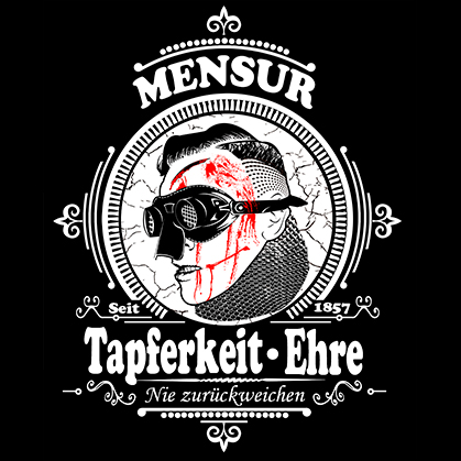 T-SHIRT (BLACK MENSUR)