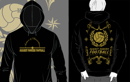 SUDADERA CAPUCHA Action & Discretion (AGAINST MODERN FOOTBALL)
