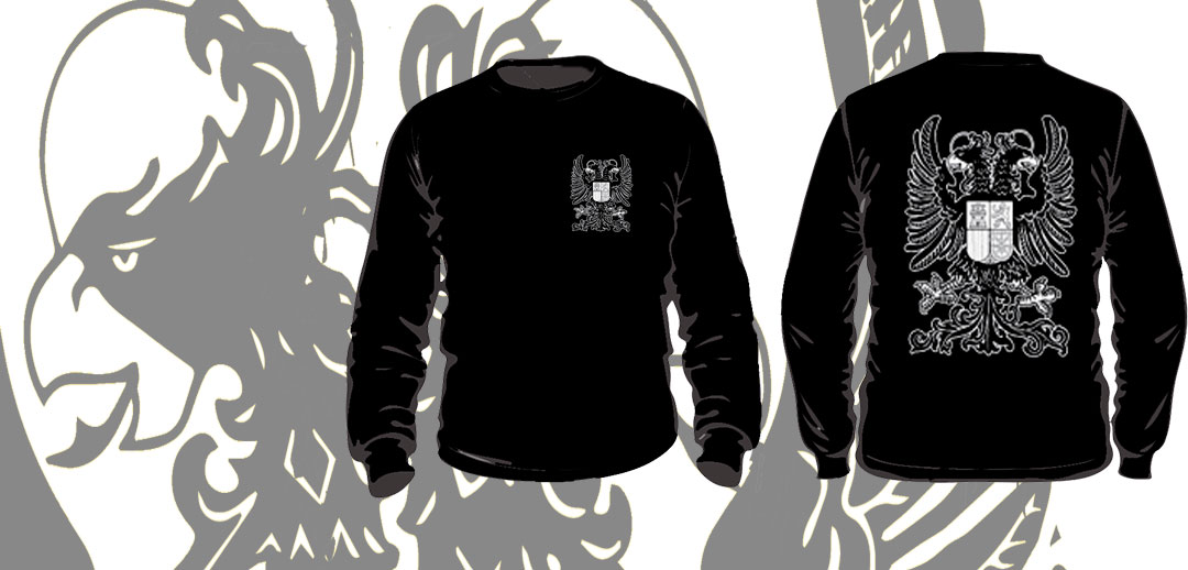 SWEATSHIRTS (DOUBLE HEADED EAGLE BLACK)