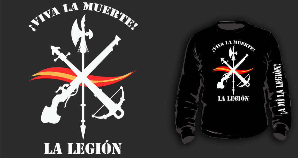 SWEAT-SHIRTS (BLACK/ ¡A MÍ LA LEGIÓN!)