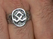 RINGE (PEWTER RING ODAL RUNE)