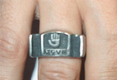 RING (PEWTER RING LEGIO VII)