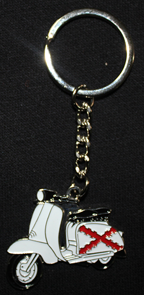 KEY RING (LAMBRETTA/ST. ANDREW´S CROSS)