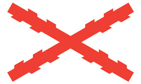 FLAG (ST. ANDREW´S CROSS)