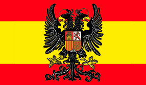 FLAG (DOUBLE HEADED EAGLE/SPAIN)