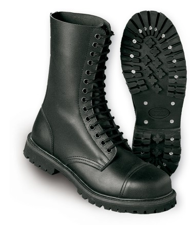 STEEL TOE BOOTS (14 HOLES)