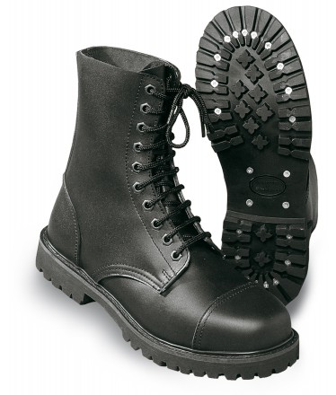 STEEL TOE BOOTS (10 HOLES)