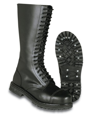STEEL TOE BOOTS (20 HOLES)