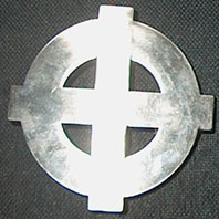 Gürtelschnalle (SINGLE CELTIC CROSS)