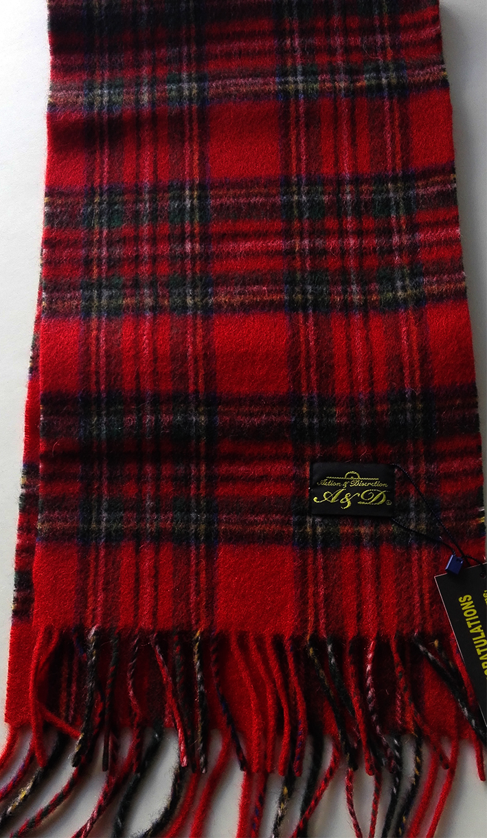 Scarf Action&Discretion (SCOTTISH TARTAN)