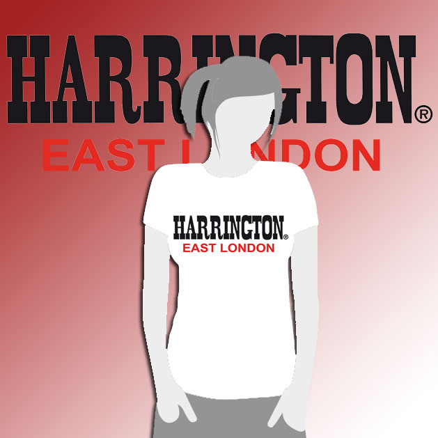 CAMISETA CHICA HARRINGTON BLANCA