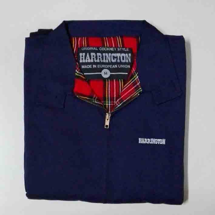 HARRINGTON JACKET (NAVY)