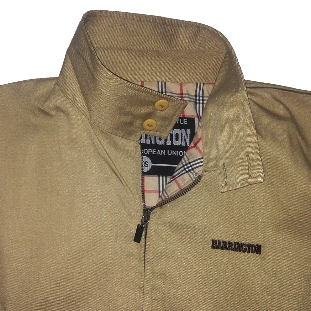 HARRINGTON JACKET (CAMEL)