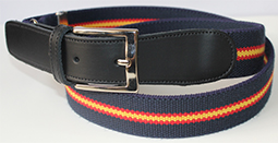 BELT SPAIN FLAG (ELASTISC/NAVY)