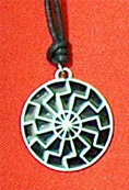 PENDANTS PEWTER (BLACK SUN)
