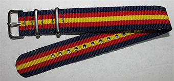 STRAP WATCH (SPAIN/ON BLUE)