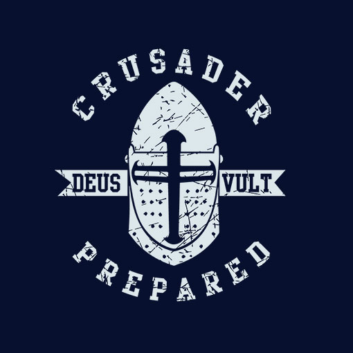 SWEAT-SHIRTS (NAVY CRUSADER/DEUS VULT)