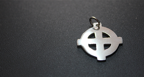 SILVER PENDANT (CELTIC CROSS)