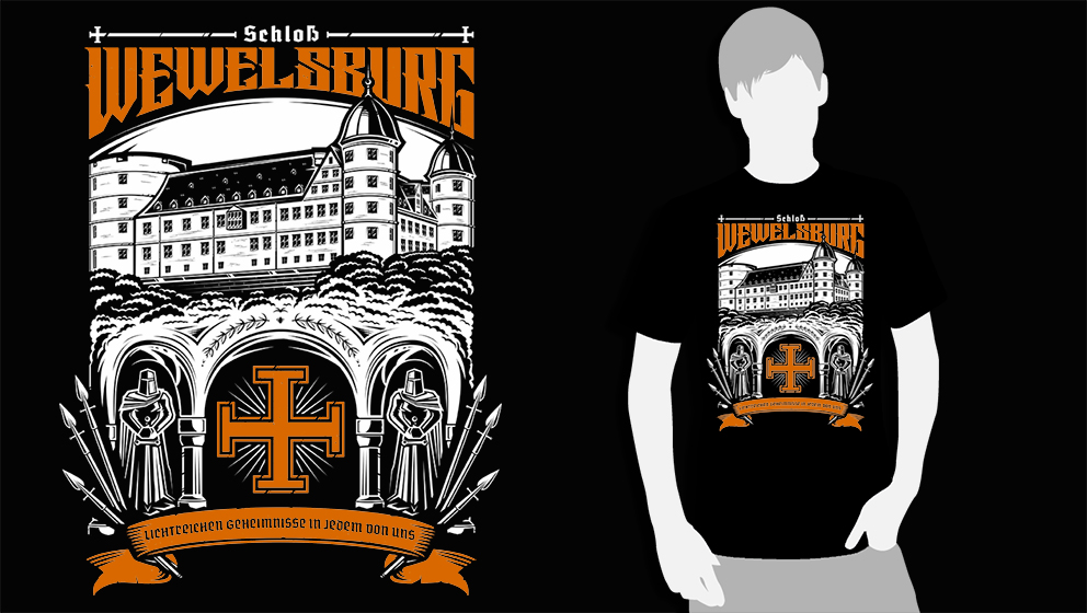 T-SHIRT (BLACK WEWELSBURG)