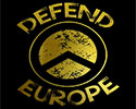 CAMISETA NEGRA DEFEND EUROPE