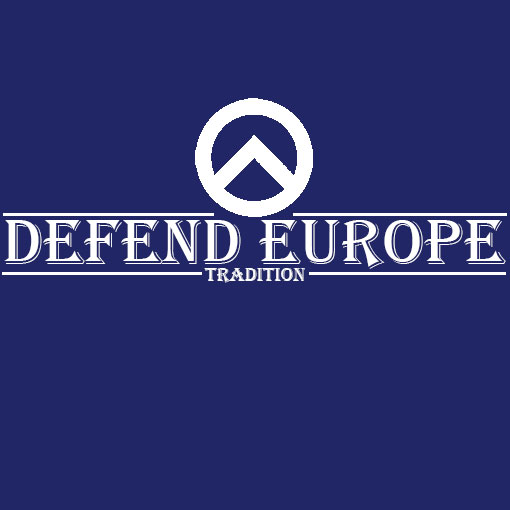T-SHIRT DEFEND EUROPE TRADITION-BLUE
