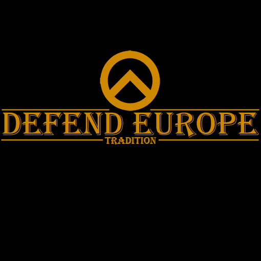 T-SHIRT DEFEND EUROPE TRADITION-BLACK