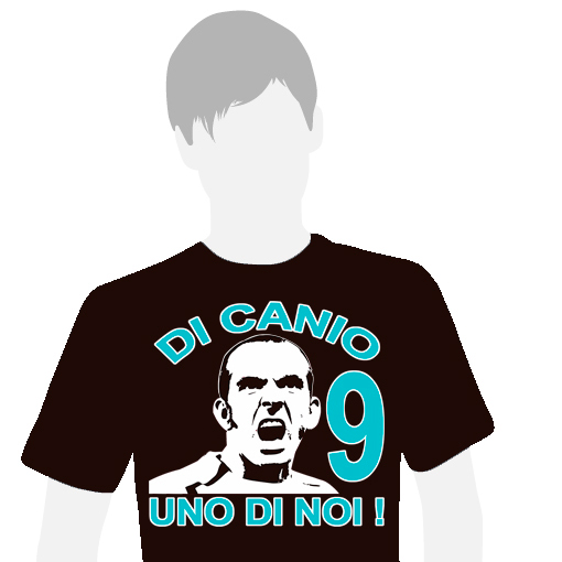 T-SHIRT (BLACK DI CANIO 9)
