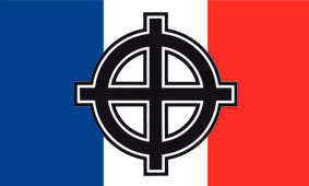 FLAG (FRANCE/CELTIC CROSS)