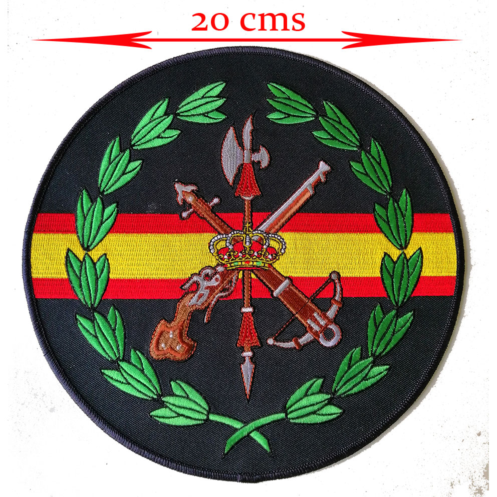 BACK PATCH (LA LEGIÓN) 20 CMS
