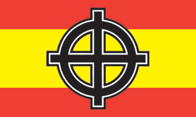 FLAG (SPAIN / CELTIC CROSS)