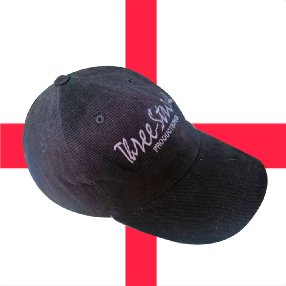 CASQUETTES THREE-STROKE (BLACK/GREY)