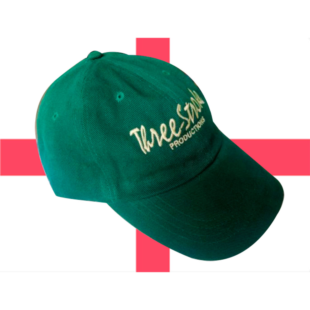 GORRA THREE-STROKE VERDE/AMARILLO