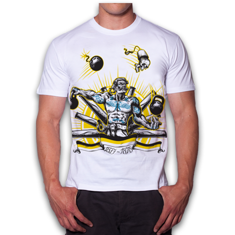 T-SHIRT WHITE REX WHITE (GRENADIER)