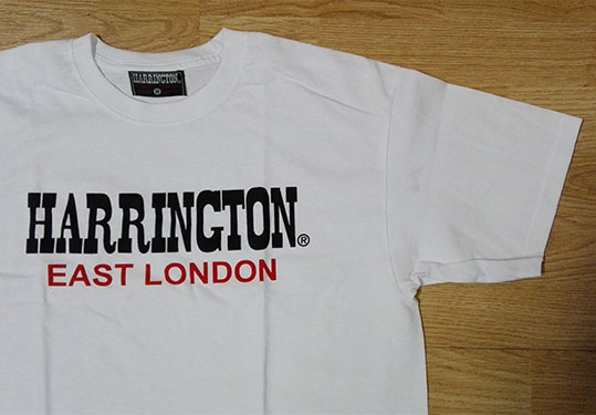 CAMISETA HARRINGTON BLANCA