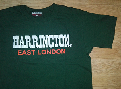 T-SHIRT HARRINGTON (GREEN)