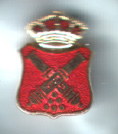 BADGE (ENAMELLED CAÑONES)
