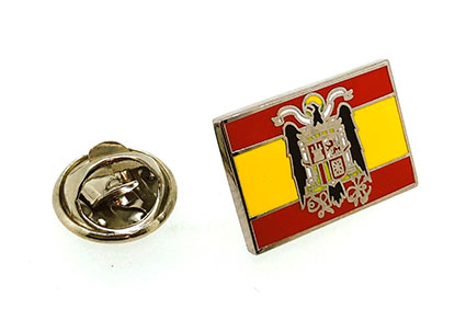 BADGE ENAMELLED (SPAIN / ST.JOHN´S EAGLE)