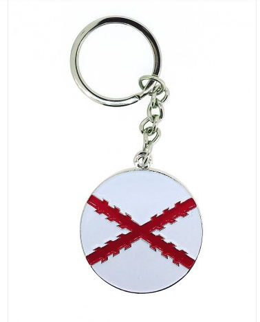 KEY RING (CIRCLE/ST. ANDREW´S CROSS)