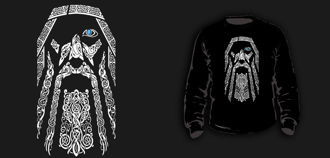 SWEATSHIRTS (BLACK/ ODIN/TRIBAL)