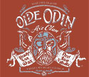 T-SHIRT (BURGUNDY ODIN / AXE CLAN)