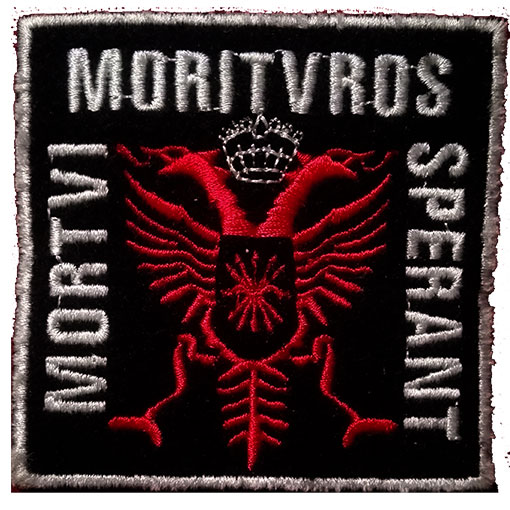 PATCH (FALANGE BARCELONA -MORTVI MORITVROS SPERANT-)