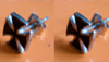 Ear-rings (pewter)