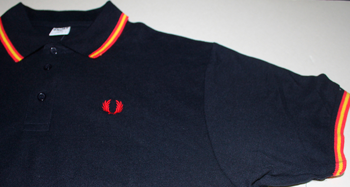 POLO NAVY LAUREL -SPAIN-