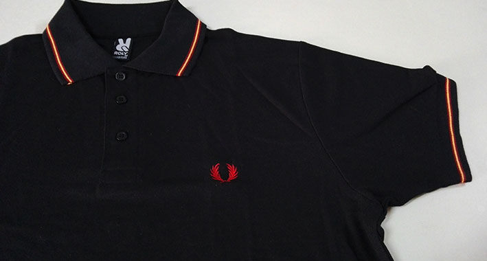 POLO BLACK LAUREL -SPAIN-