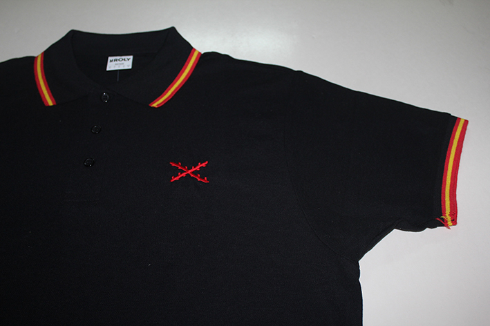 POLO BLACK/ST. ANDREW´S CROSS