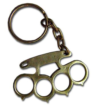 KEY RING (BRASS KNUCKLES)