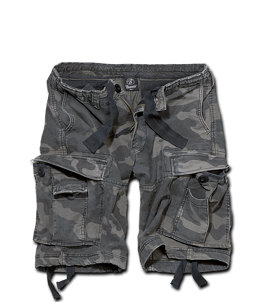 SHORTS BRANDIT (BLACK CAMO)